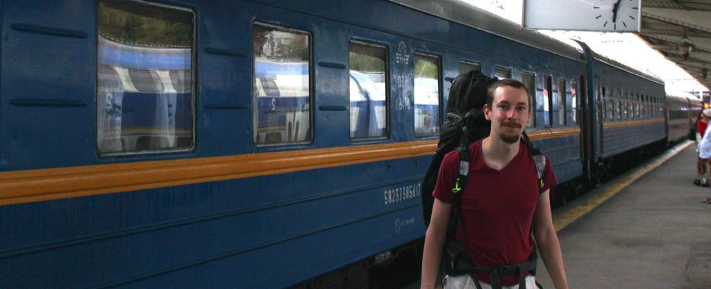 Sama mies ja sama rautatieasema 29. kesäkuuta 2016.
