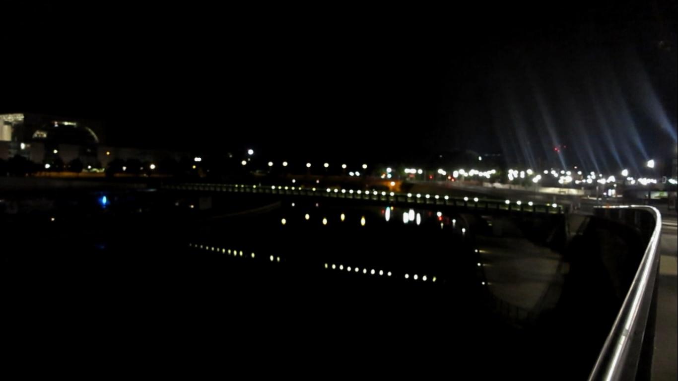 Berliinimaisema yöllä